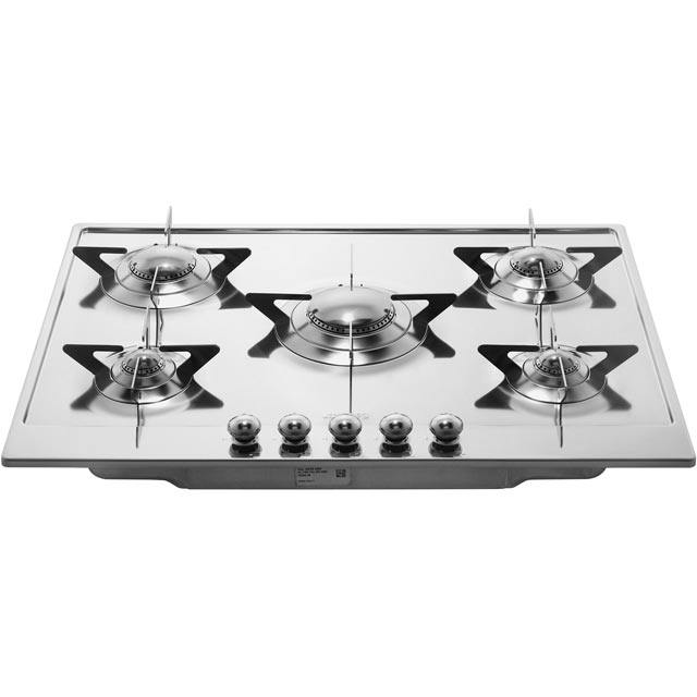 Smeg Piano Design P705ES Built In Gas Hob - Stainless Steel - P705ES_SS - 5