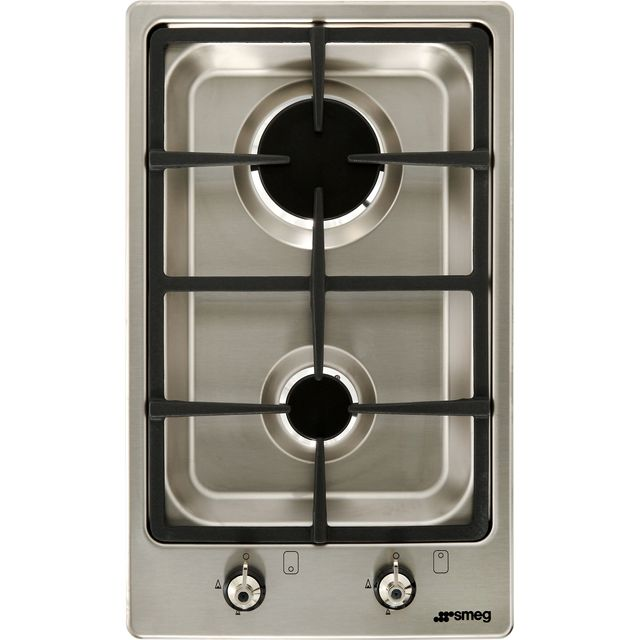 Smeg Classic PGF32G Built In Gas Hob - Stainless Steel