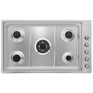 Smeg PGF95-4 Built In Gas Hob - Stainless Steel - PGF95-4_SS - 4