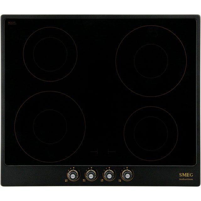 Smeg Cortina PI764AO 60cm Induction Hob - Anthracite - PI764AO_AI - 1