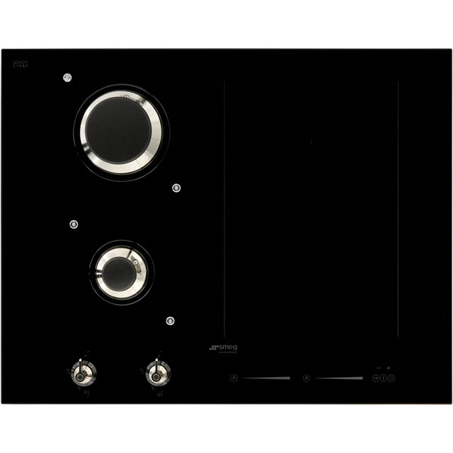 Smeg Classic PM3621WLD Built In Induction Hob - Black - PM3621WLD_BK - 2