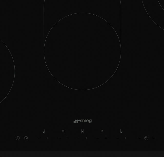 Smeg SE385EMTB Built In Ceramic Hob - Black - SE385EMTB_BK - 2