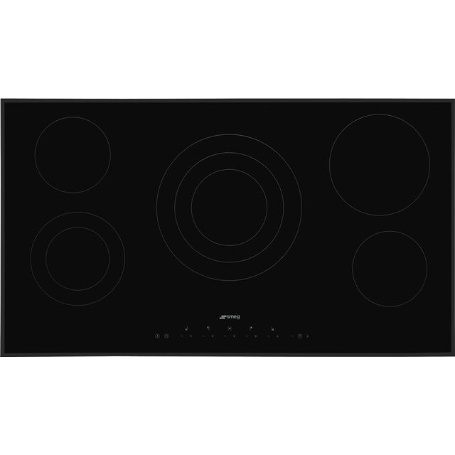 Smeg SE395ETB Built In Ceramic Hob - Black - SE395ETB_BK - 1