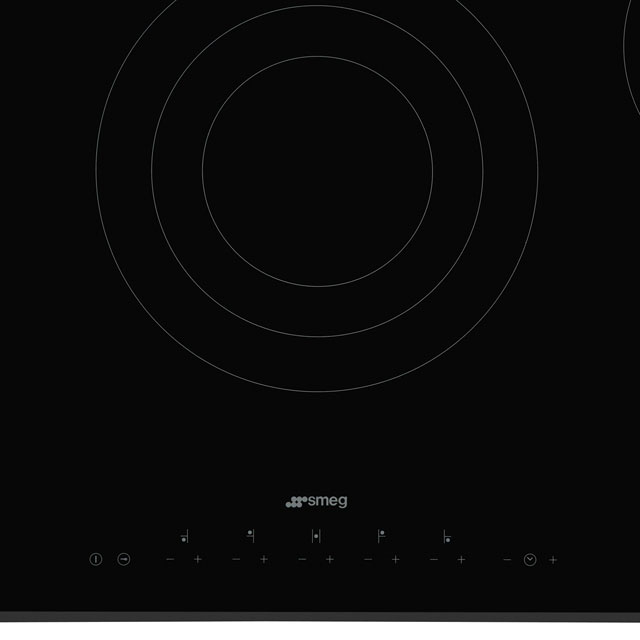Smeg SE395ETB Built In Ceramic Hob - Black - SE395ETB_BK - 2