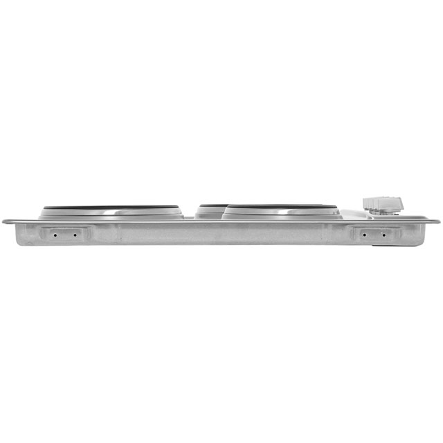 Smeg Cucina SE435S Built In Solid Plate Hob - Stainless Steel - SE435S_SS - 4