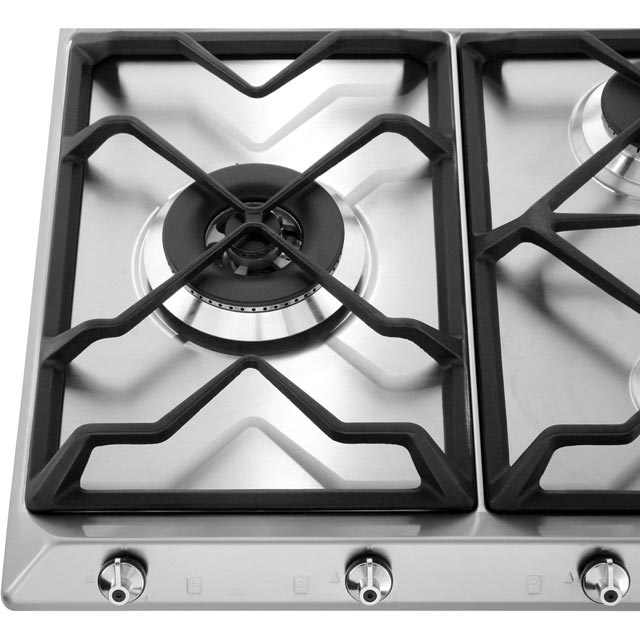 Smeg Classic SE97GXBE5 Built In Gas Hob - Stainless Steel - SE97GXBE5_SS - 3