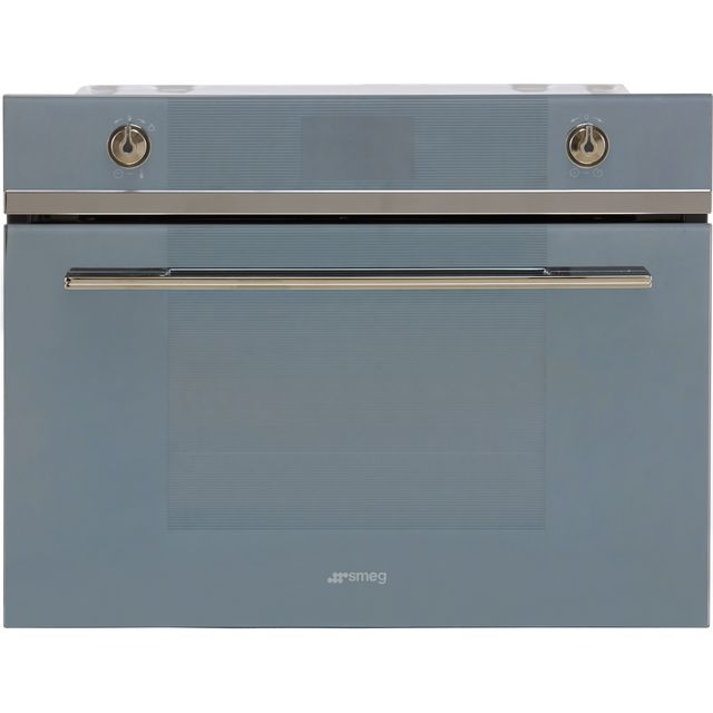 Smeg Linea SF4102MCS Built In Microwave With Grill - Silver - SF4102MCS_SI - 1