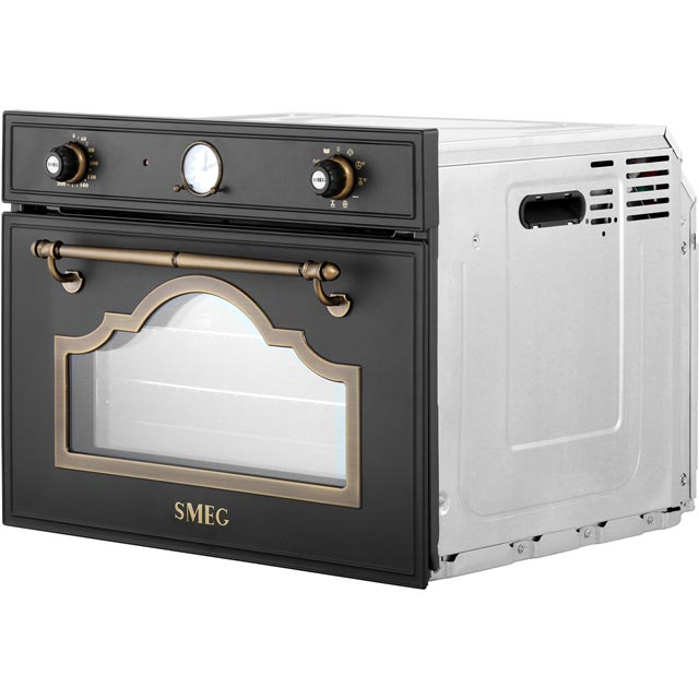 Smeg Cortina SF4750VCPO Built In Steam Oven - Cream / Brass - SF4750VCPO_CR - 5