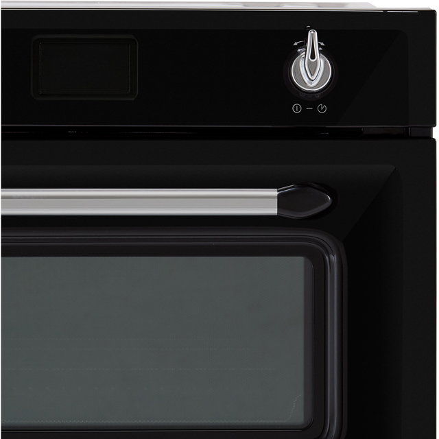 Smeg Victoria SF4920MCX1 Built In Electric Single Oven - Silver - SF4920MCX1_SI - 3