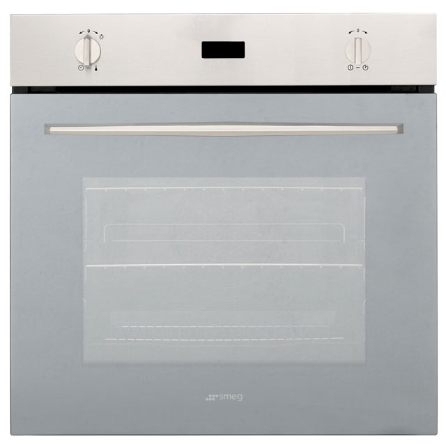 Smeg SF585XLS Built In Electric Single Oven - Stainless Steel - SF585XLS_SS - 1