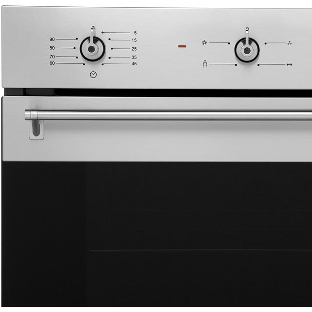 Smeg Classic SF6341GVX Built In Gas Single Oven - Stainless Steel - SF6341GVX_SS - 2