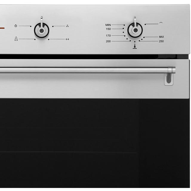 Smeg Classic SF6341GVX Built In Gas Single Oven - Stainless Steel - SF6341GVX_SS - 3