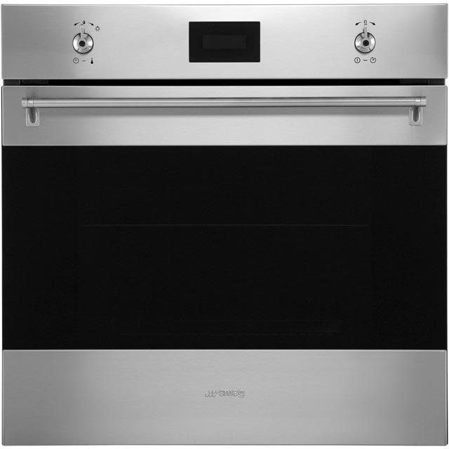 Smeg Classic SF6371X Built In Electric Single Oven - Stainless Steel - A Rated - SF6371X_SS - 1