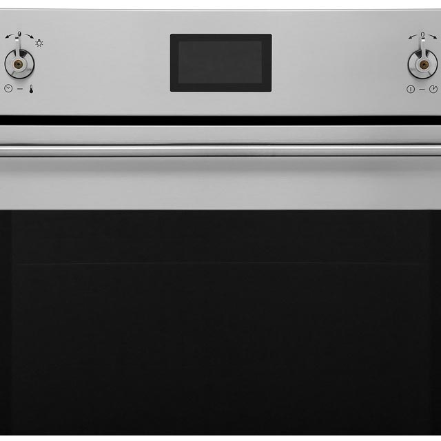 Smeg Classic SF6390XE Built In Electric Single Oven - Stainless Steel - SF6390XE_SS - 3