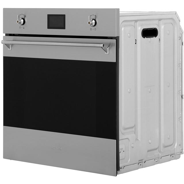 Smeg Classic SF6390XE Built In Electric Single Oven - Stainless Steel - SF6390XE_SS - 4