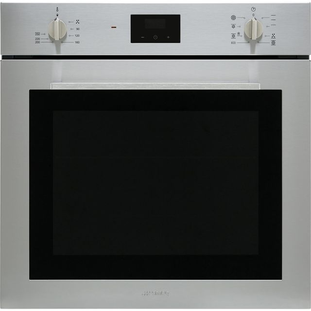 Smeg Cucina SF6400TVX Built In Electric Single Oven - Stainless Steel - A Rated - SF6400TVX_SS - 1