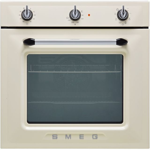 Smeg Victoria SF6905P1 Built In Electric Single Oven - Cream - SF6905P1_CR - 1