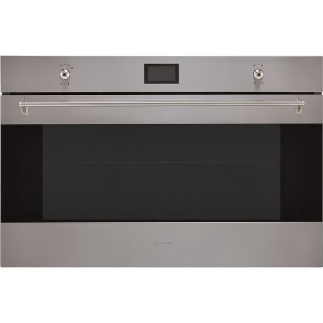 Smeg Classic SF9390X1 Built In Electric Single Oven - Stainless Steel - A+ Rated - SF9390X1_SS - 1