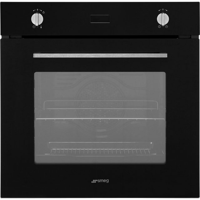 Smeg Cucina Electric Single Oven - Black - A Rated