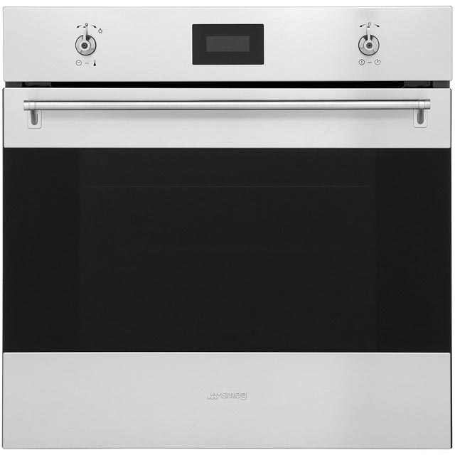 Smeg Classic SFP6378X Built In Electric Single Oven - Stainless Steel - A Rated - SFP6378X_SS - 1