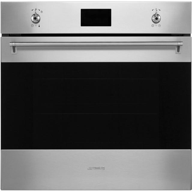 Smeg Classic SFP6390XE Built In Electric Single Oven - Stainless Steel - A+ Rated - SFP6390XE_SS - 1