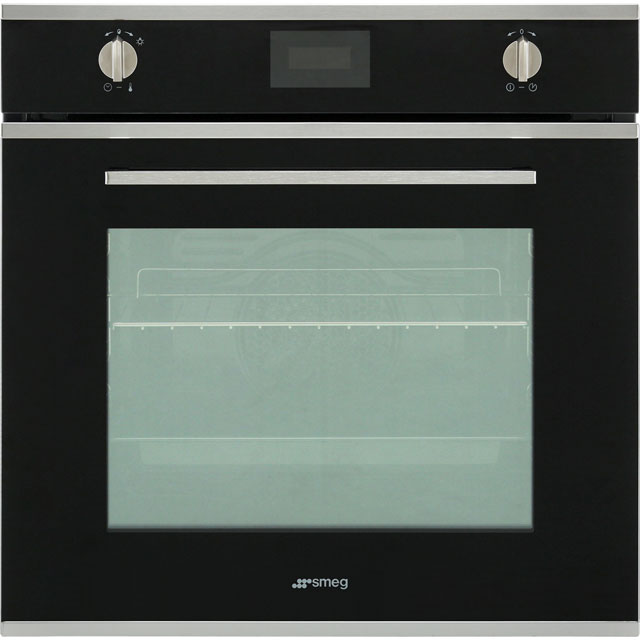 Smeg Cucina SFP6401TVN Built In Electric Single Oven - Black - A Rated - SFP6401TVN_BK - 1