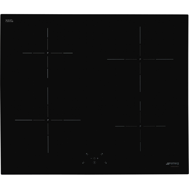 Smeg SI5643D 60cm Induction Hob - Black - SI5643D_BK - 1