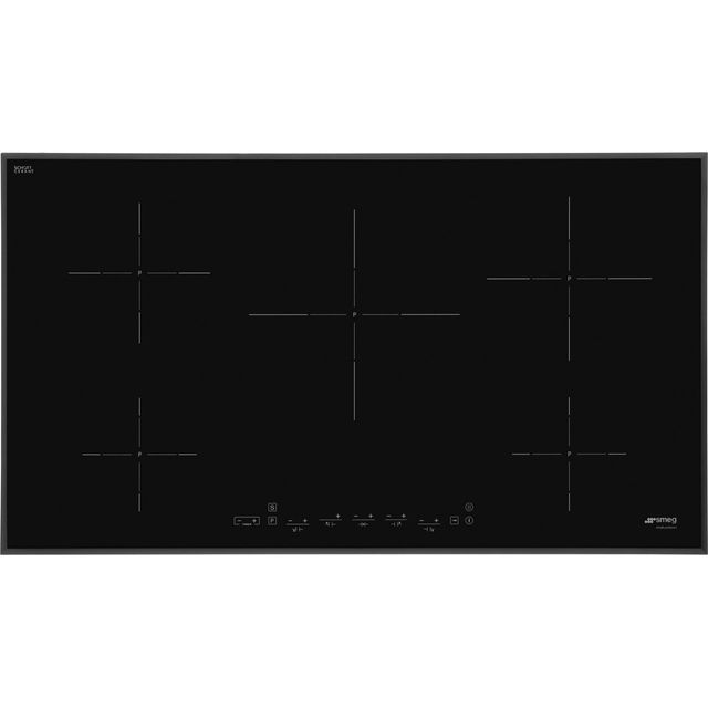Smeg SI5952B 90cm Induction Hob - Black - SI5952B_BK - 1