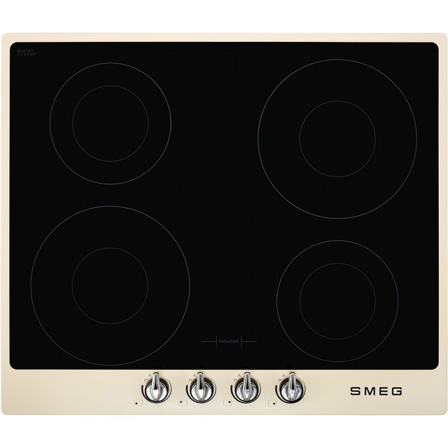 Smeg Victoria SI964PM 60cm Induction Hob - Cream - SI964PM_CR - 1