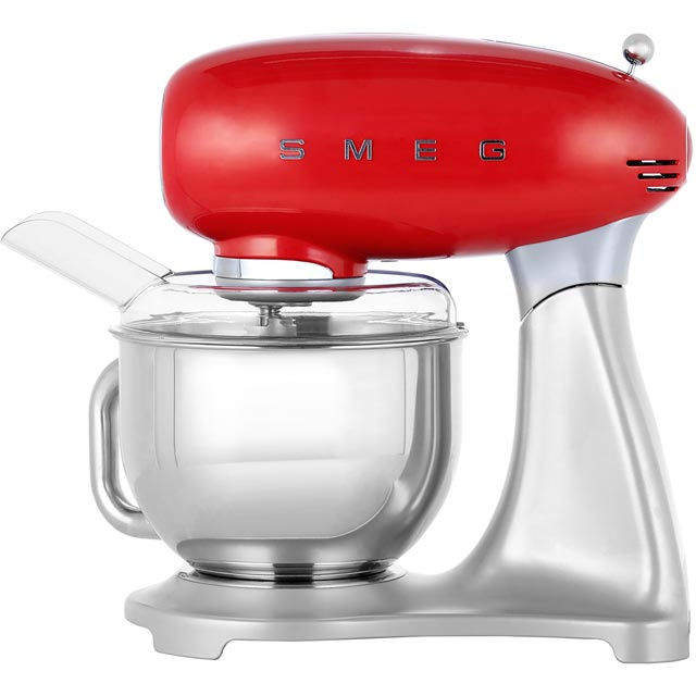 Smeg 50s Retro Food Mixer in Red