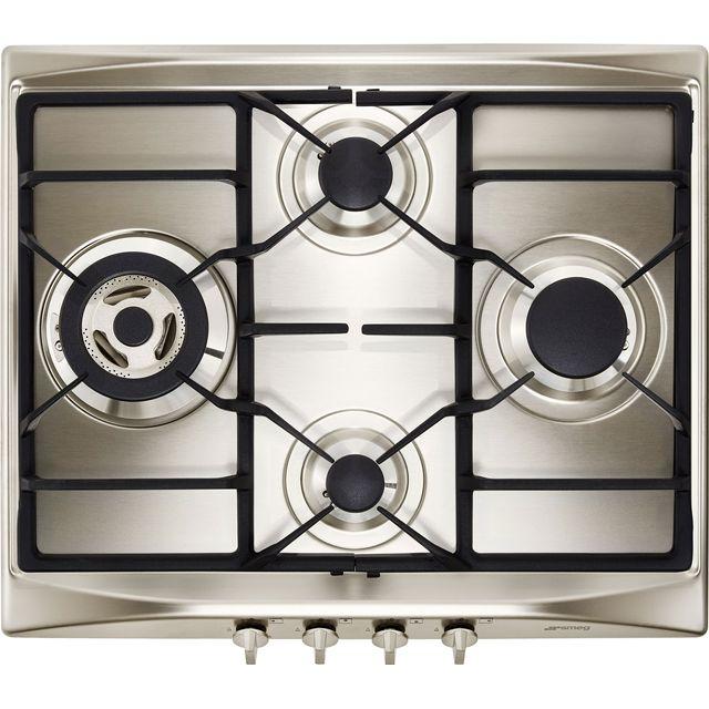 Smeg Cucina SR264XGH2 60cm Gas Hob – Stainless Steel