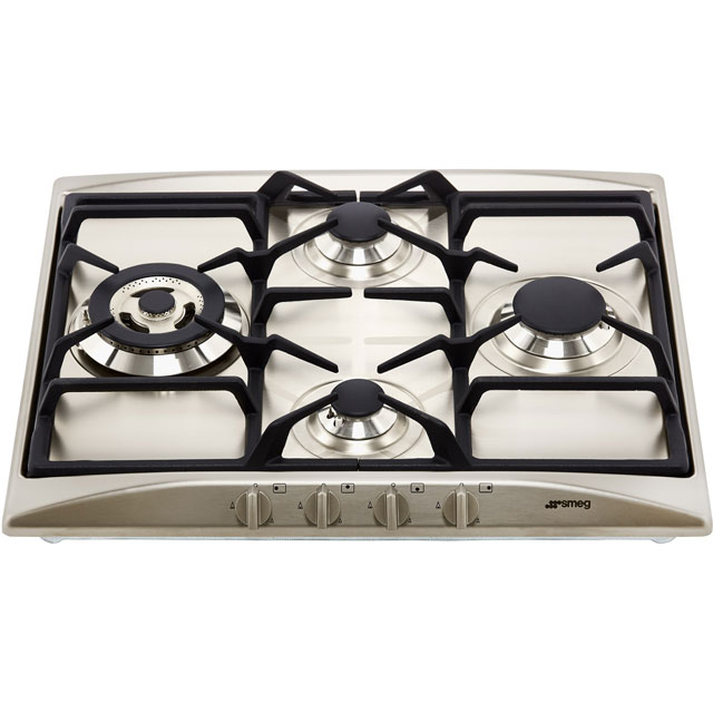 Smeg Cucina SR264XGH2 Built In Gas Hob - Stainless Steel - SR264XGH2_SS - 3