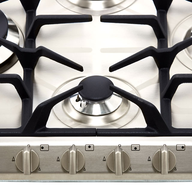 Smeg Cucina SR264XGH2 Built In Gas Hob - Stainless Steel - SR264XGH2_SS - 4