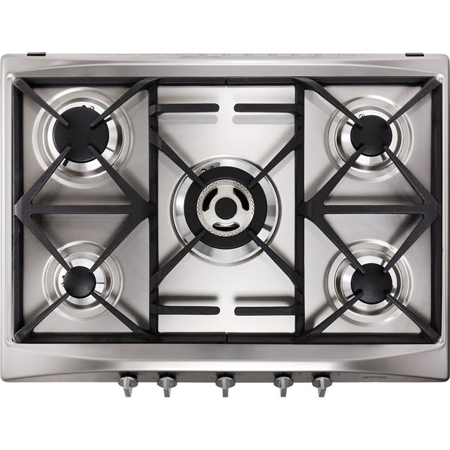 Smeg Cucina SR275XGH2 Built In Gas Hob - Stainless Steel