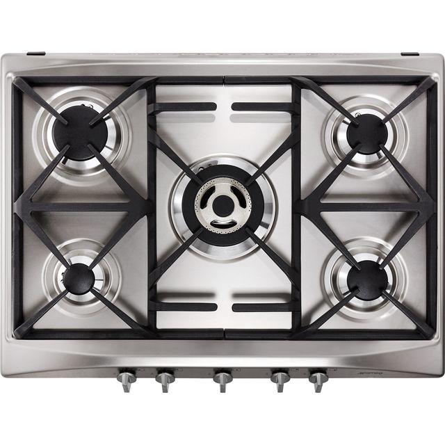 Smeg Cucina SR275XGH2 68cm Gas Hob – Stainless Steel