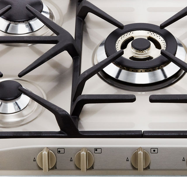 Smeg Cucina SR275XGH2 Built In Gas Hob - Stainless Steel - SR275XGH2_SS - 3