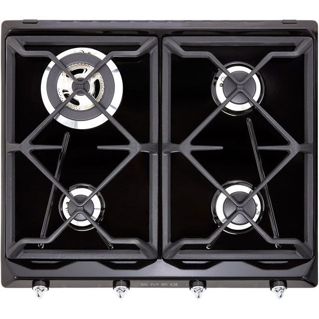 Smeg Victoria SR964NGH Built In Gas Hob - Black