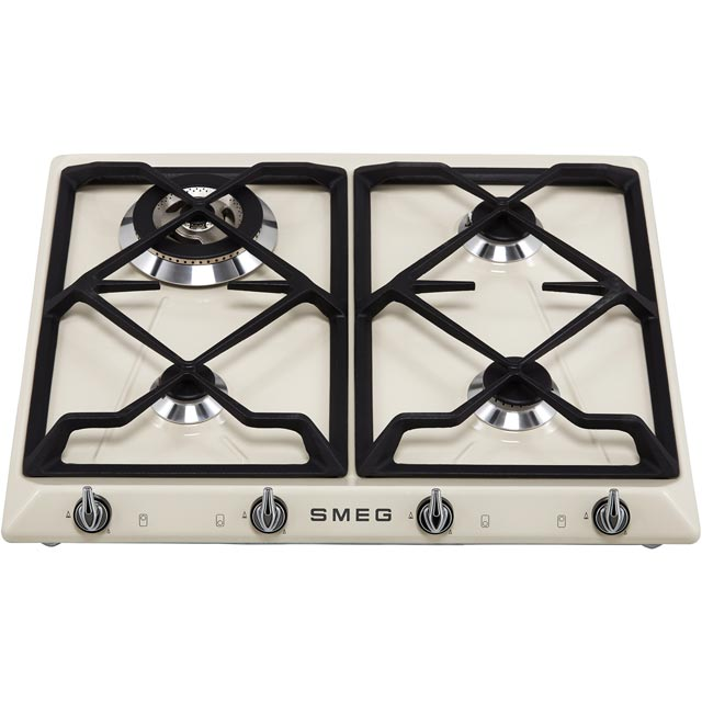 Smeg Victoria SR964XGH Built In Gas Hob - Stainless Steel - SR964XGH_SS - 5