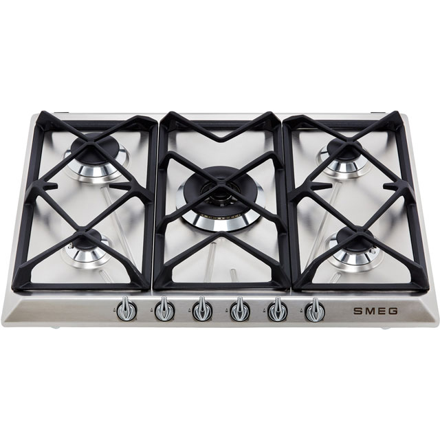 Smeg Victoria SR975NGH Built In Gas Hob - Black - SR975NGH_BK - 2
