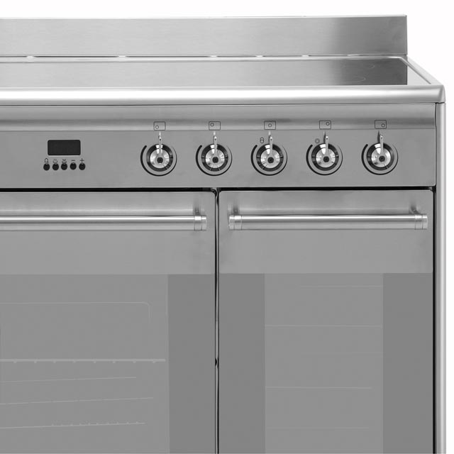 Smeg Concert SUK92CBL9 Electric Range Cooker - Black - SUK92CBL9_BK - 3