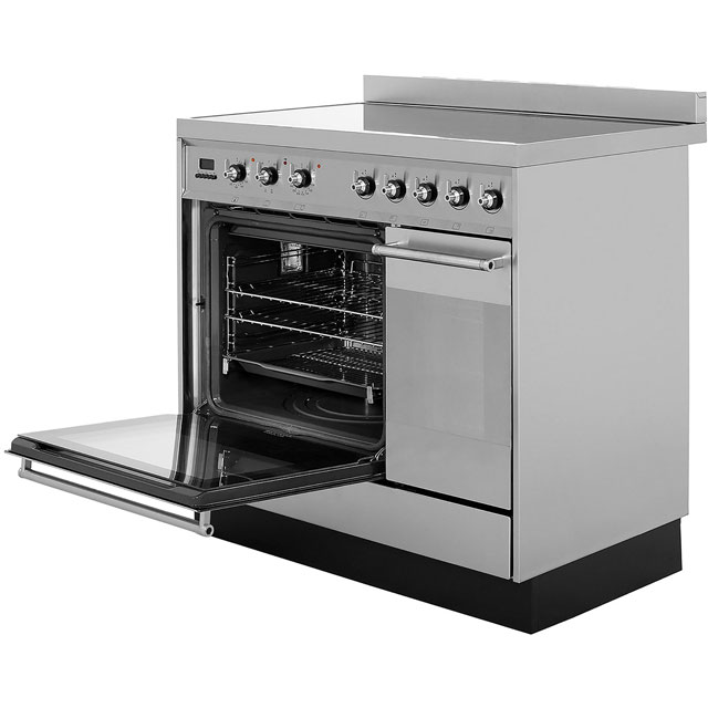 Smeg SY92IPX8 Symphony 90cm Electric Range Cooker - Stainless Steel - SY92IPX8_SS - 2
