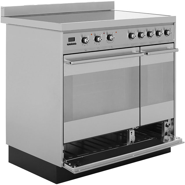 Smeg SY92IPX8 Symphony 90cm Electric Range Cooker - Stainless Steel - SY92IPX8_SS - 5