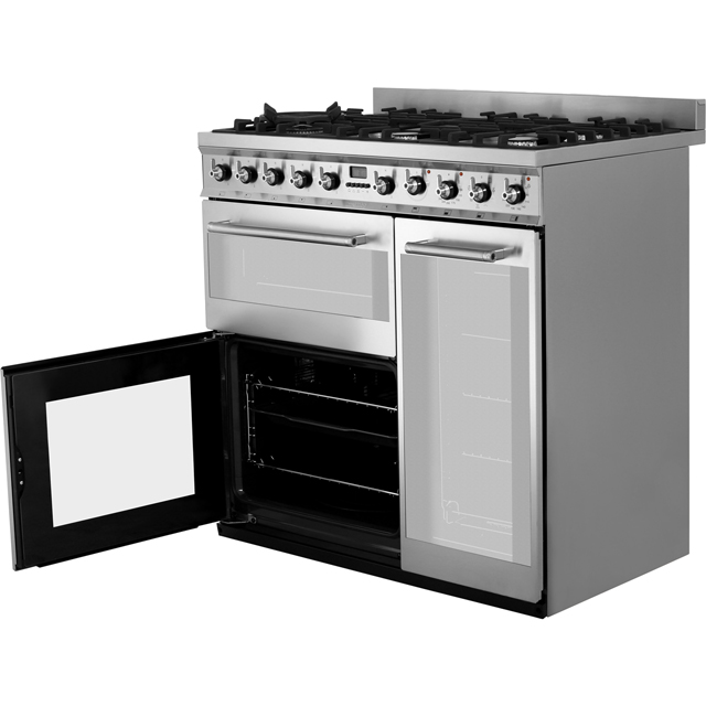 Smeg SY93 Symphony 90cm Dual Fuel Range Cooker - Stainless Steel - SY93_SS - 5