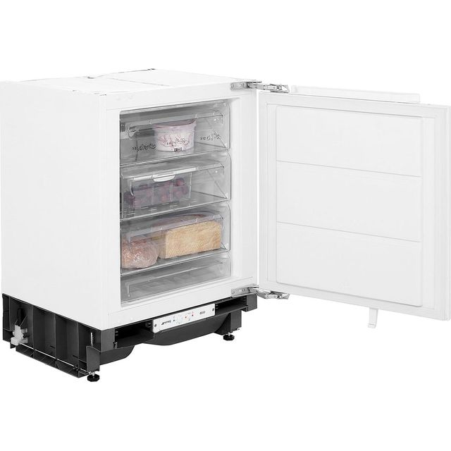 Smeg UKUD7108FSEP Integrated Under Counter Freezer with Fixed Door Fixing Kit - A+ Rated - UKUD7108FSEP_WH - 1