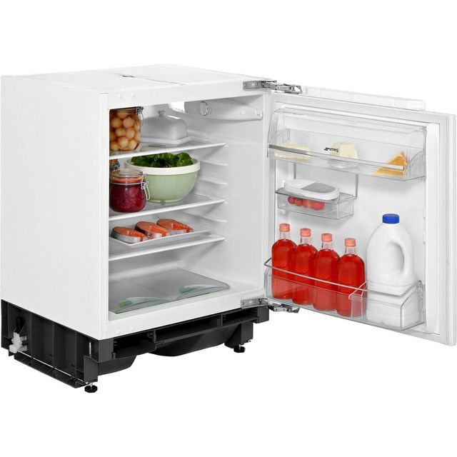 Smeg UKUD7140LSP Built Under Fridge - White - UKUD7140LSP_WH - 1