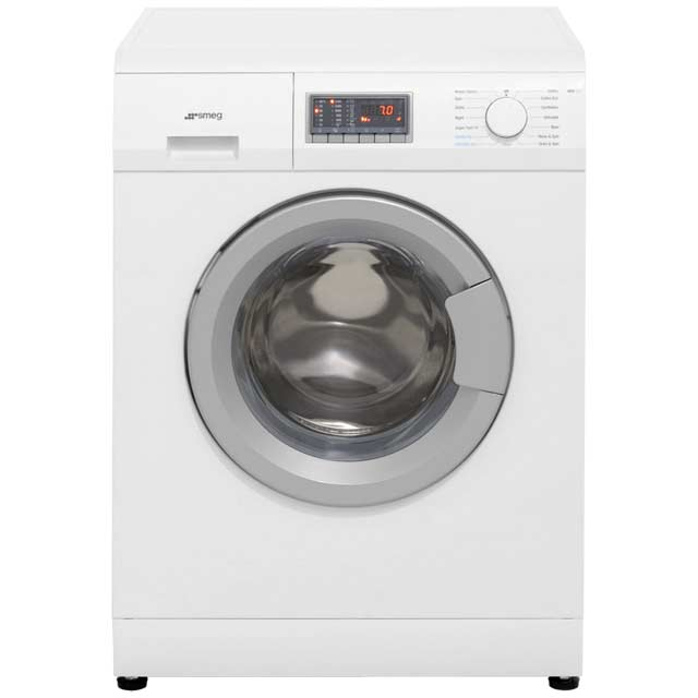 Smeg WDF147 7Kg / 4Kg Washer Dryer with 1400 rpm - White - WDF147_WH - 1