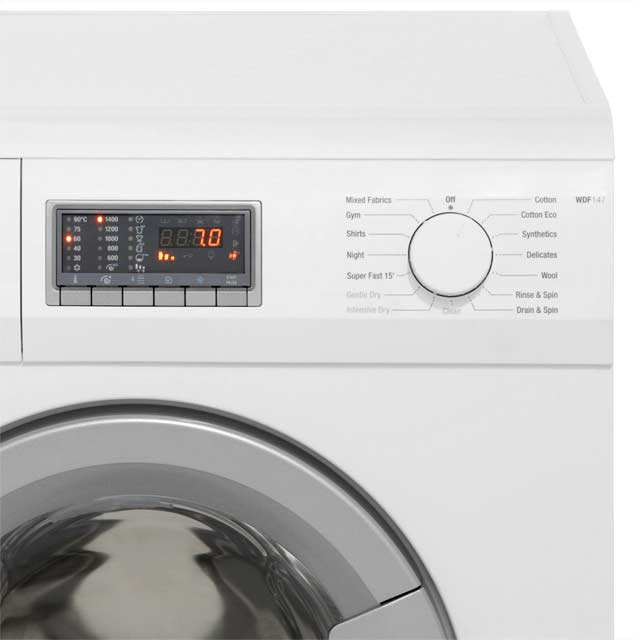 Smeg WDF147 7Kg / 4Kg Washer Dryer - White - WDF147_WH - 4