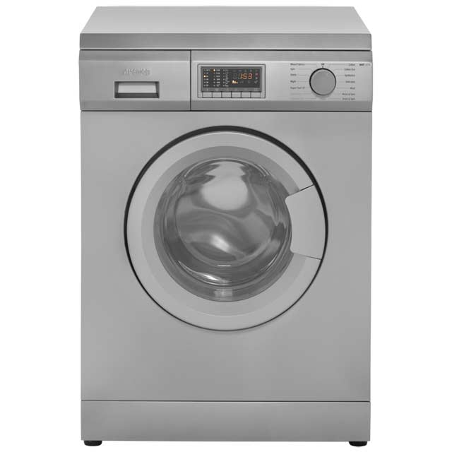 Smeg WDF147X 7Kg / 4Kg Washer Dryer with 1400 rpm - Stainless Steel - A Rated - WDF147X_SS - 1