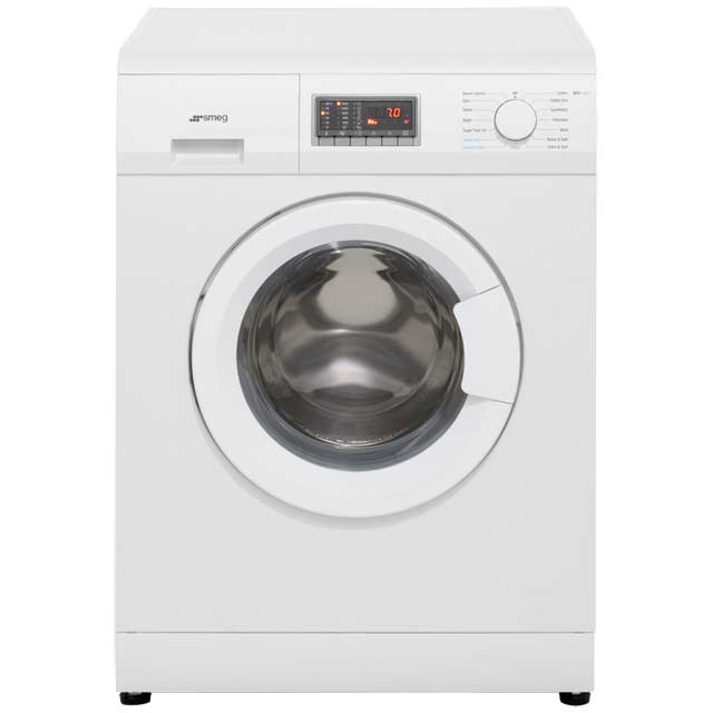Smeg WDF14C7 7Kg / 4Kg Washer Dryer with 1400 rpm - White - WDF14C7_WH - 1