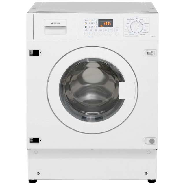 Smeg WDI147 Integrated 7Kg / 4Kg Washer Dryer with 1400 rpm - A Rated